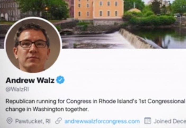 Twitter verified a fake congressional candidate created by a teenager
