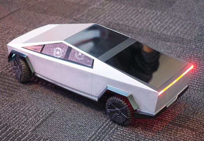 The Hot Wheels RC Cybertruck is a mini Tesla for $400