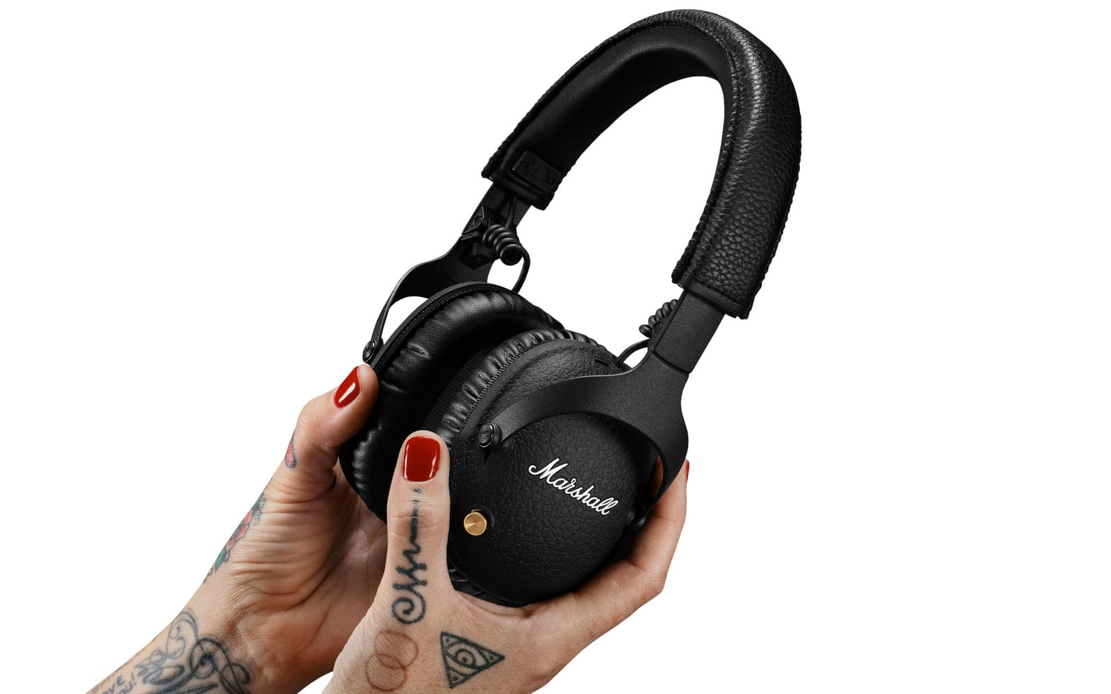 Marshall's latest Monitor over-ear headphones are equipped with ANC