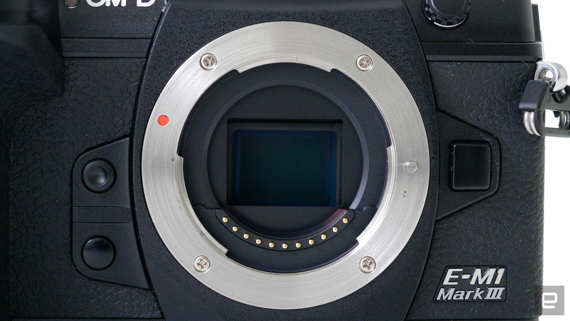 Olympus O-MD E-M1 Mark III Micro Four Thirds mirrorless camera