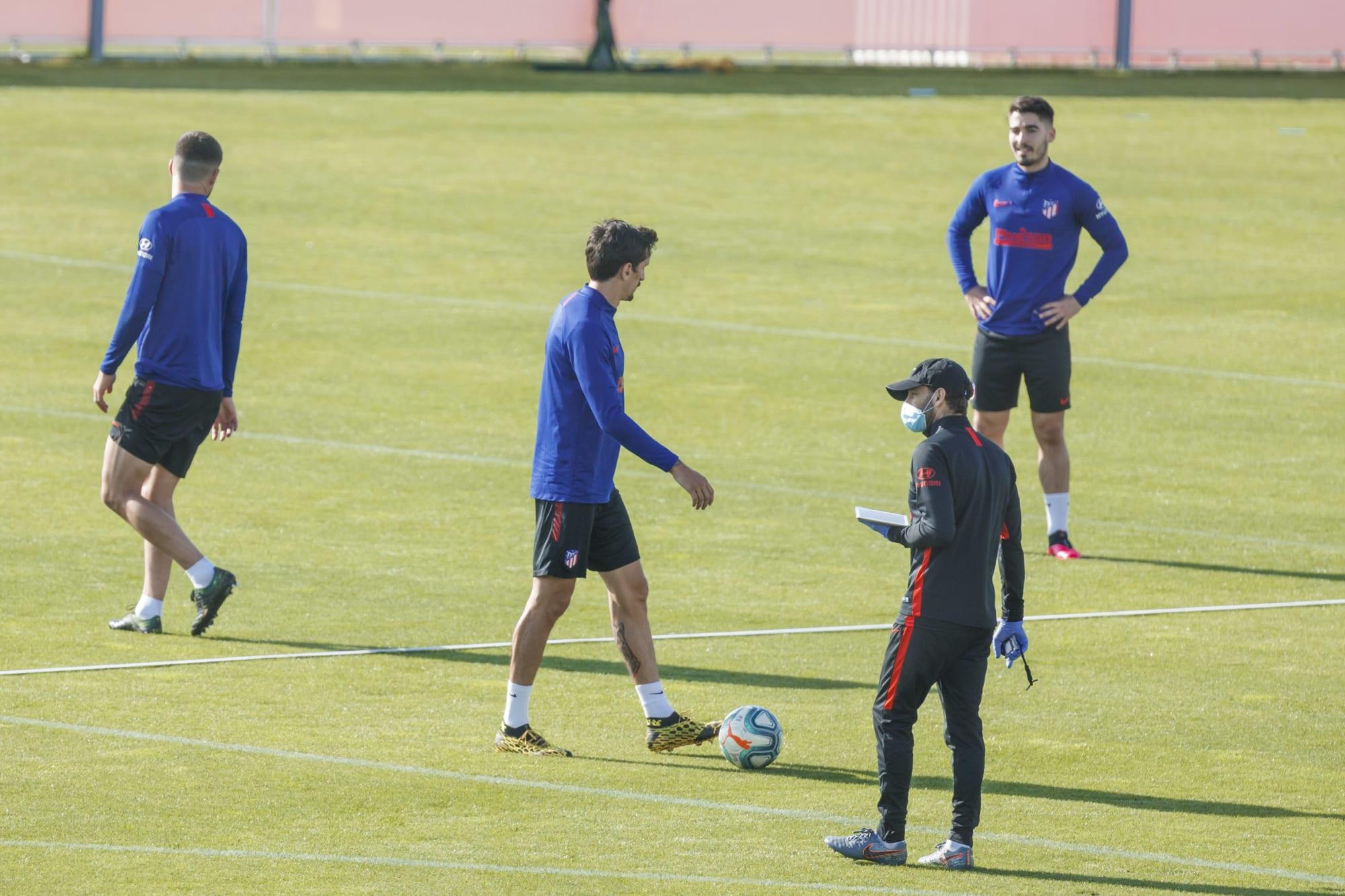 Atletico de Madrid Training Session