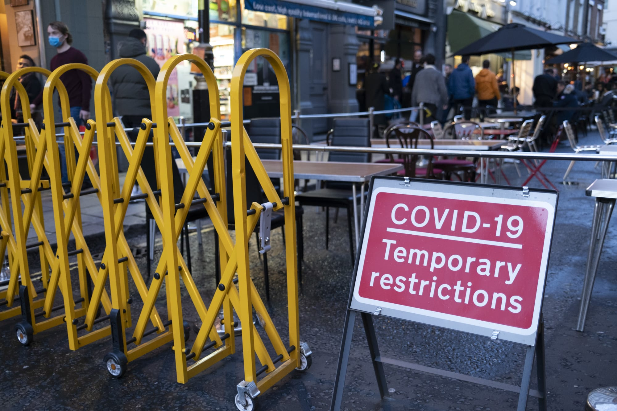 Business As Usual In Soho As London Anticipates Second Lockdown