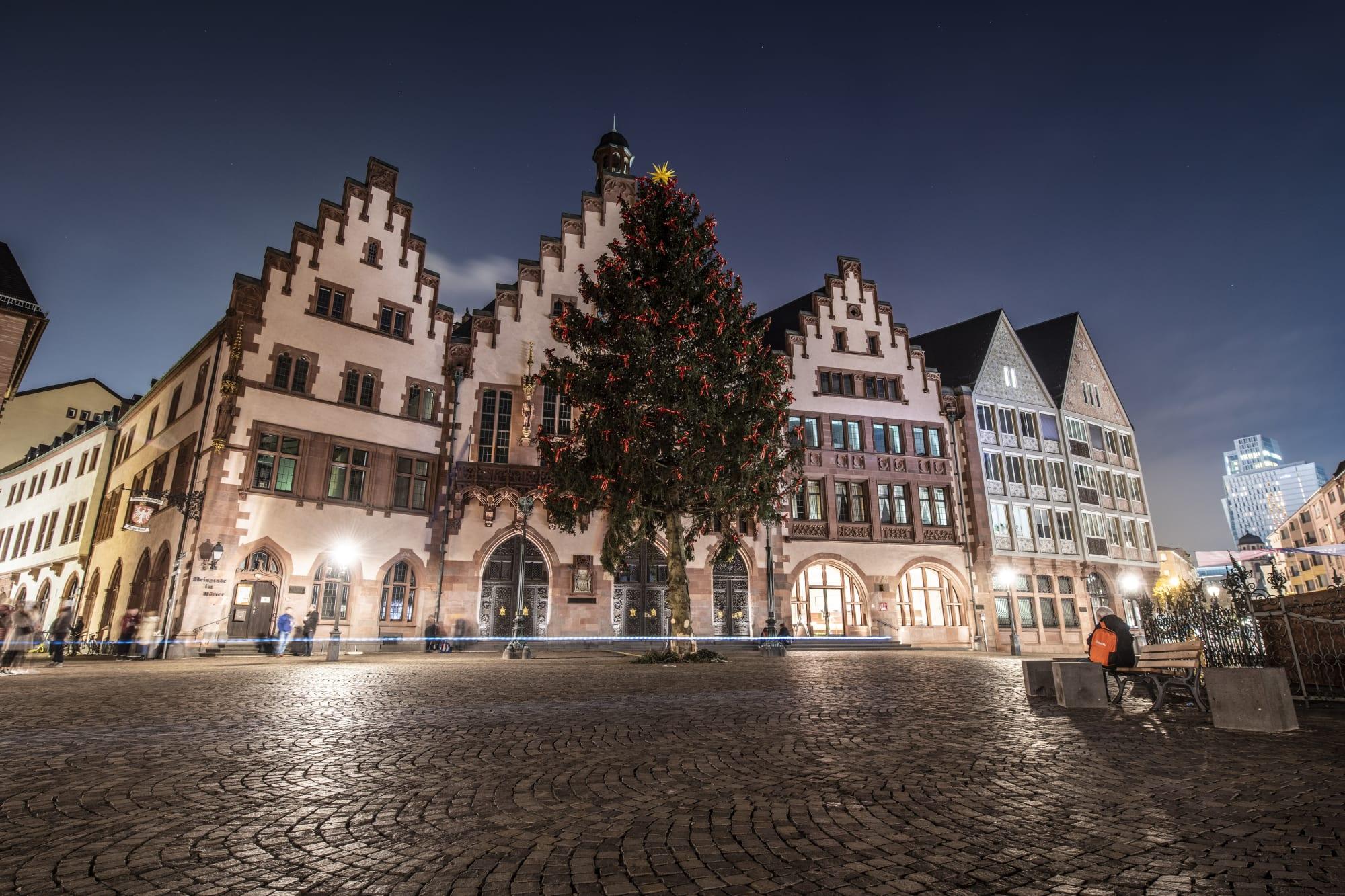 Leere statt Weihnachtsmarkt: Was vom Winterzauber bleibt.