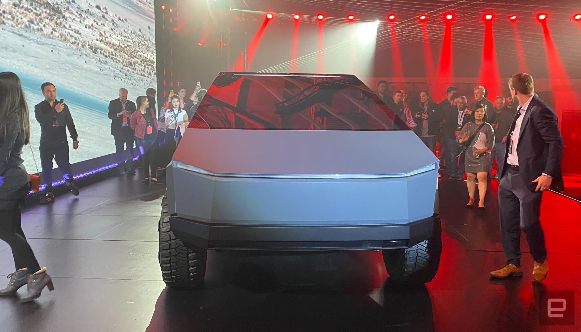 Tesla Cybertruck Unveil