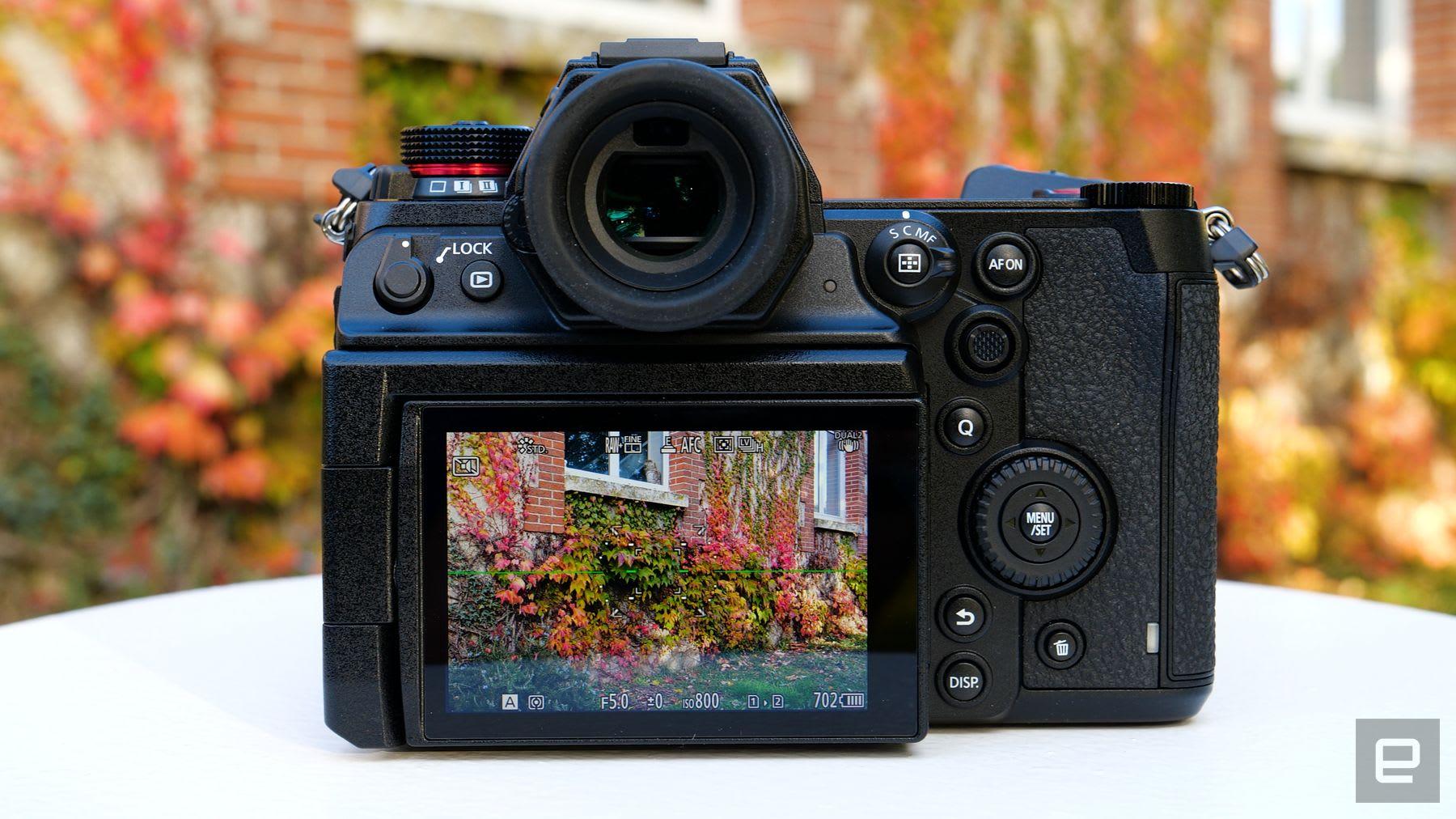 Panasonic Lumix S1H full-frame mirrorless camera