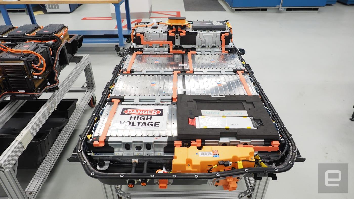 通用汽車和 LG 在美國合作生產電動車電池