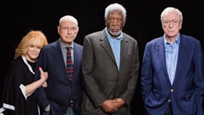 "Alan Arkin, Michael Caine, Morgan Freeman And Ann-Margret On ""Going In Style"""