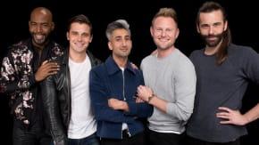"The New Fab Five Antoni Porowski, Bobby Berk, Karamo Brown, Jonathan Van Ness And Tan France Speak On Netflix's ""Queer Eye"""