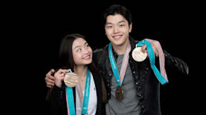 Maia & Alex Shibutani Swing By To Talk About The 2018 Winter Olympics