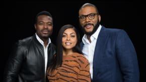 """Tyler Perry, Taraji P. Henson & Lyriq Bent Speak On The Film, """"Acrimony"""""""