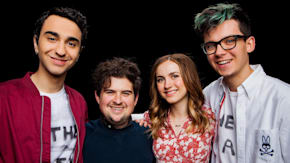 "Alex Wolff, Asa Butterfield, Maude Apatow & Peter Livolsi Chat About ""The House of Tomorrow"""