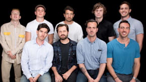 "Evan Peters, Barry Keoghan, Blake Jenner, Jared Abrahamson, Bart Layton, Spencer Reinhard, Warren Lipka, Eric Borsuk & Chas Allen On ""American Animals"""