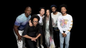 """Boots Riley, Lakeith Stanfield, Tessa Thompson, Jermaine Fowler, Terry Crews & Steven Yeun On """"Sorry to Bother You"""""""