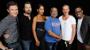 "Topher Grace, Ryan Eggold, Laura Harrier, Corey Hawkins, Jasper Pääkkönen & Ron Stallworth Discuss ""BlacKkKlansman"""