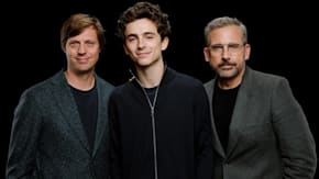 "Steve Carell, Timothée Chalamet & Felix Van Groeningen Discuss Their Film, ""Beautiful Boy"""