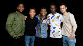 "Jharrel Jerome, Ethan Herisse, Caleel Harris, Marquis Rodriguez & Asante Blackk Speak On Netflix's ""When They See Us"""