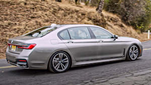 BMW 745E review: High-end hybrid speed and luxury