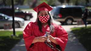 These Pics Show A High School Graduation During The Pandemic