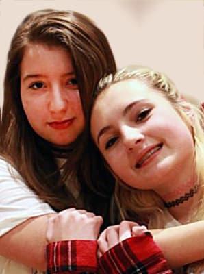 Tessa Hill and Lia Valente