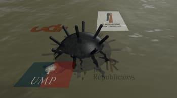 Terrain miné: 40 ans de guerres présidentielles à droite