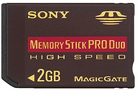 Sony Memory Stick PRO Duo High Speed review - Engadget