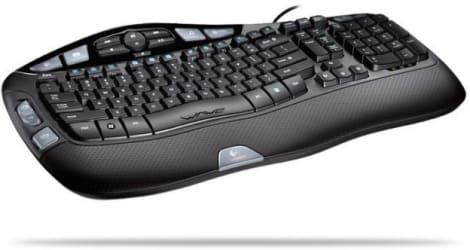 72d61f42e1f Logitech Wave Keyboard review - Engadget