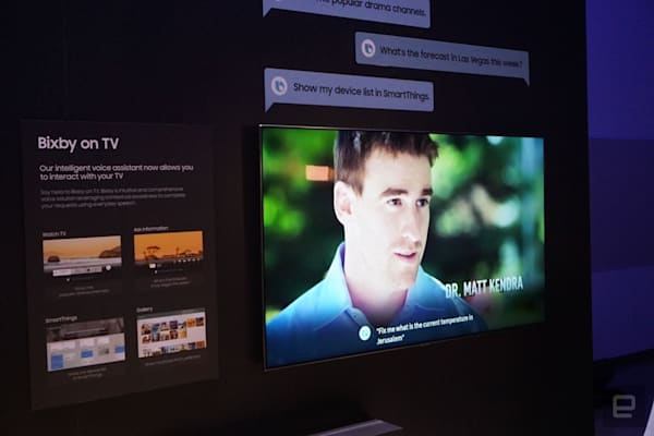 Samsung 2019 年的新電視或許會在 Bixby 外另外搭載 Google 助理