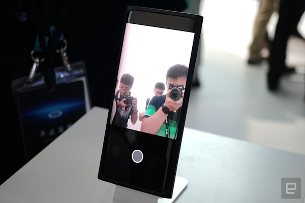 Oppo 的屏下自拍相机技术正式公开