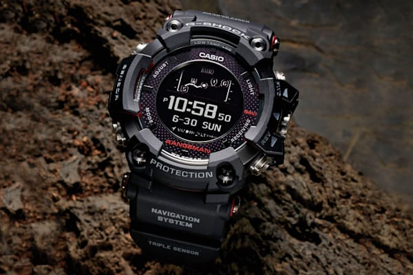 aba27077ccf9e Casio s solar-powered GPS watch is ideal for survivalists