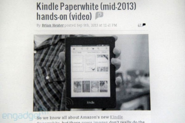 Amazon Kindle Paperwhite review (2013): is last year's best e-reader
