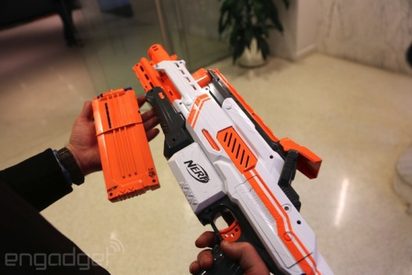 Newest NERF blaster has baked in camera for capturing your