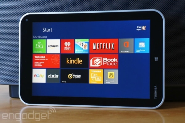 Toshiba Encore review: an 8-inch Windows tablet that