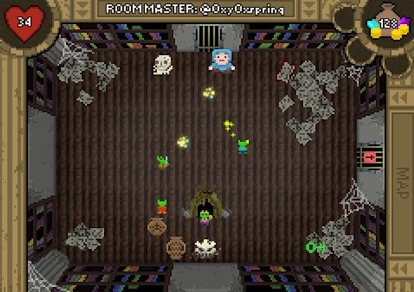 Hitpoint's #Dungeon to start building rooms from tweets on