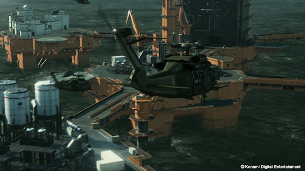 Metal Gear Solid 5: The Phantom Pain, Ground Zeroes coming
