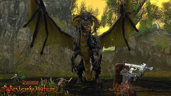 Neverwinter shows off the Scourge Warlock for Tyranny of Dragons