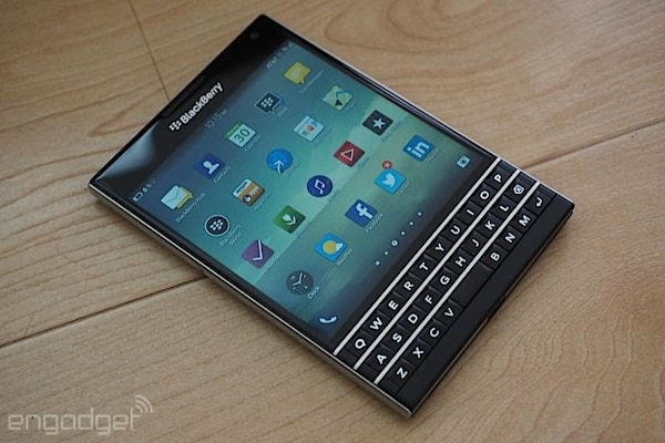 I typed my entire BlackBerry Passport review on the phone's