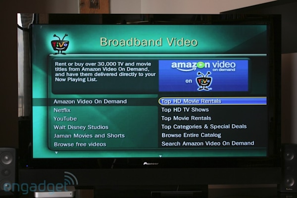 Amazon Video on Demand supports 5 1 surround on TiVo (plus