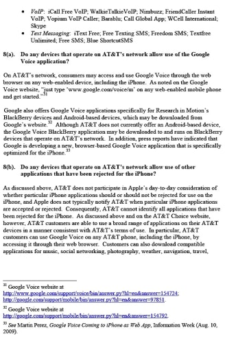 AT&T, Apple and Google respond to the FCC over Google Voice and the