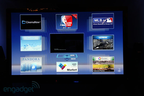 Panasonic rolls out new apps for its 2011 Viera Connect TVs