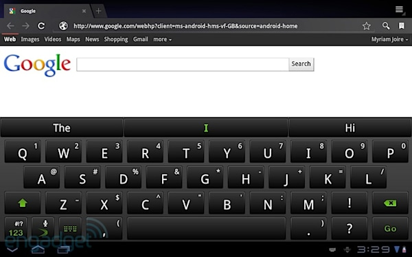SwiftKey X virtual keyboard launches for Android tablets, we