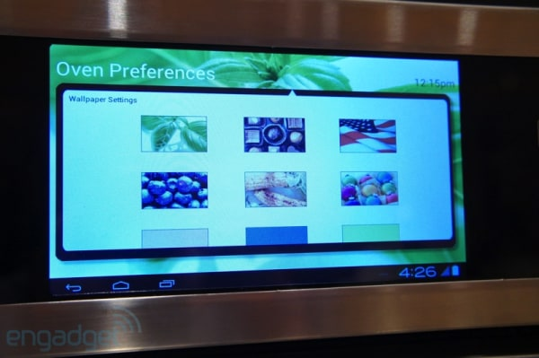 Dacor's Android oven packs 1GHz processor, 7-inch screen, heat