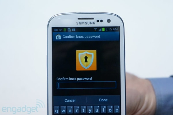 Samsung announces SAFE with Knox, details plans to secure