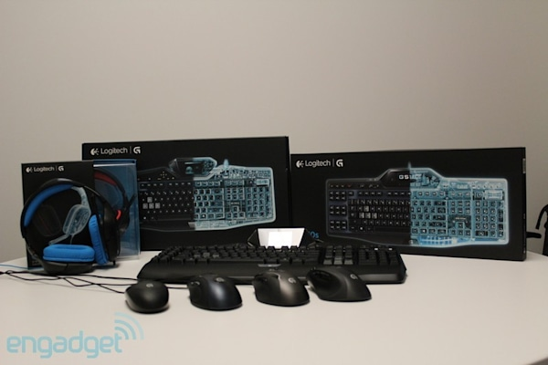 Logitech rebrands gaming line with same name, announces