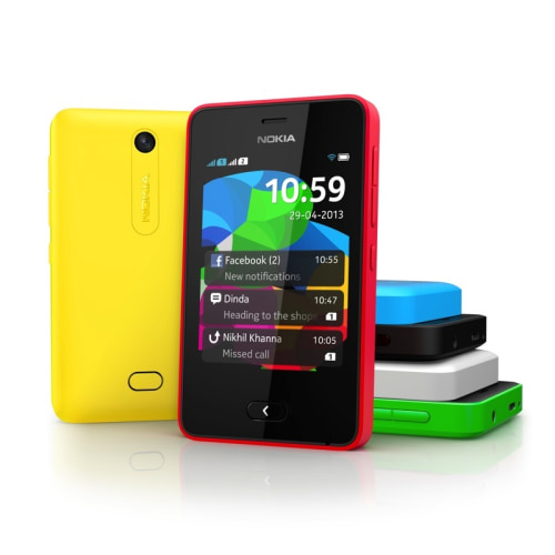 Nokia unveils the touchscreen Asha 501 with new software