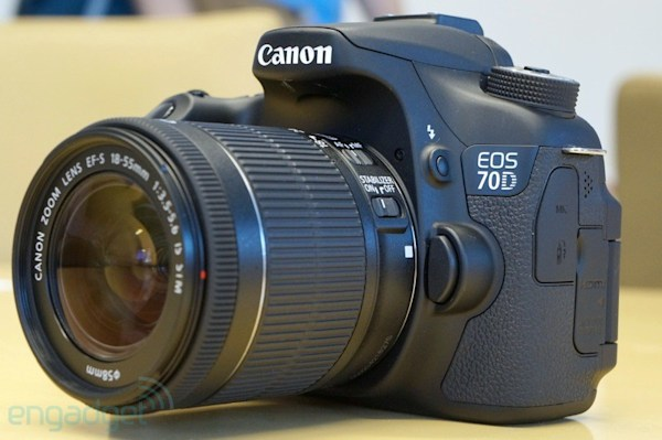 Canon reinvents video focusing with the fiercely fast EOS