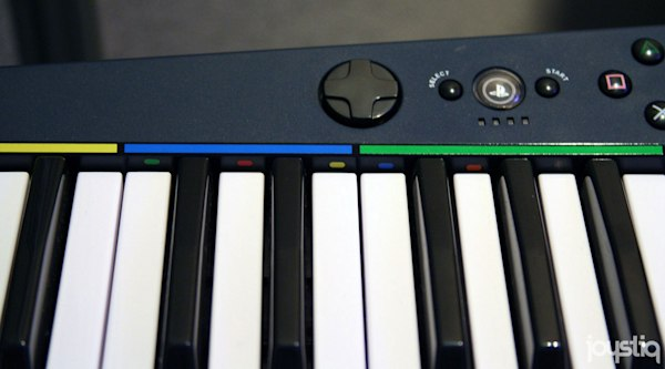 Have a look at the Rock Band 3 keyboard & MIDI PRO-Adapter