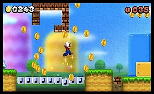 New Super Mario Bros  2 review: Gold, standard