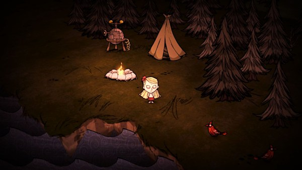 Don't Starve Together is for people who 'just want to watch