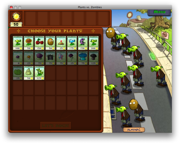 TUAW Review: Plants vs  Zombies