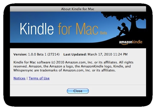 Amazon stealthily releases Kindle app for Mac